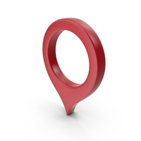 Location Sign Red PNG & PSD Images