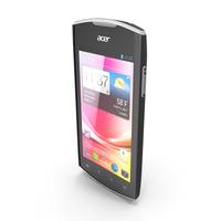 Acer Liquid Glow Black PNG & PSD Images