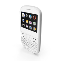 Alcatel One Touch 819 Soul in White PNG & PSD Images