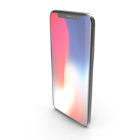 Apple iPhone X Dark Grey PNG & PSD Images