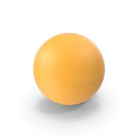 Ping Pong Ball Orange PNG & PSD Images