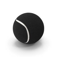 Tennis Ball Black PNG & PSD Images