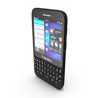 Blackberry Q5 QWERTY Smartphone PNG & PSD Images