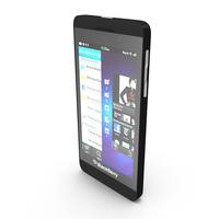 Blackberry Z10 Smartphone PNG & PSD Images