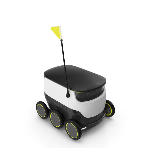 Personal Delivery Robot PNG & PSD Images