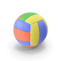 VolleyBall Colored PNG & PSD Images