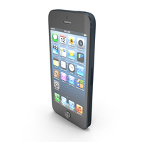 Brand New Apple iPhone 5 PNG & PSD Images