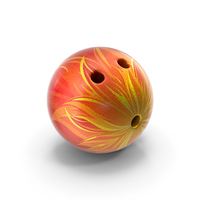 Bowling Ball Flames PNG & PSD Images