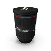 Canon Lens EF 24-70mm f2.8L II USM PNG & PSD Images