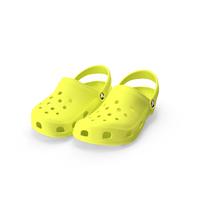 Crocs Shoes Lime PNG & PSD Images