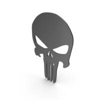Skull Figure Black PNG & PSD Images