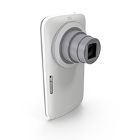 Samsung Galaxy K Zoom Smartphone Camera White PNG & PSD Images