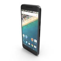 Google LG Nexus 5X Black PNG & PSD Images