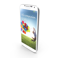 Samsung Galaxy S 4 IV S4 SIV Flagship Smartphone 2013 PNG & PSD Images