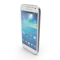 Samsung Galaxy S4 Mini SIV White PNG & PSD Images