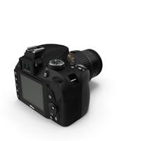 Photo Camera Nikon D3300 PNG & PSD Images