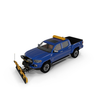 Pickup with SnowPlow PNG & PSD Images