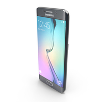 Samsung Galaxy S6 Edge Sapphire Black PNG & PSD Images