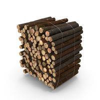 Pile of Small Wood Logs PNG & PSD Images