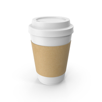Paper Coffe Cup White PNG & PSD Images