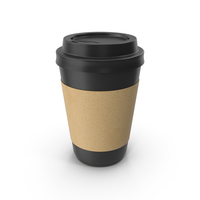Paper Coffe Cup Black PNG & PSD Images