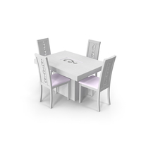 Dinning White PNG & PSD Images