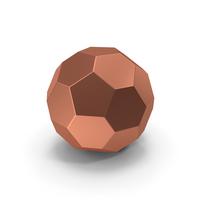 Hexagon Ball Bronze PNG & PSD Images