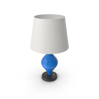 Table Lamp Blue PNG & PSD Images