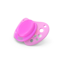 Pink Baby Dummy PNG & PSD Images