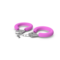 Pink Handcuffs PNG & PSD Images