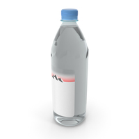 Plastic Bottle Mineral Water 1L PNG & PSD Images