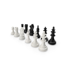 Plastic Chess Figures PNG & PSD Images