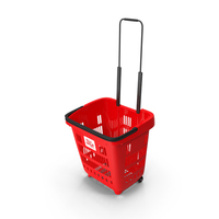 Plastic Roll Shopping Basket PNG & PSD Images