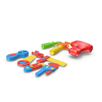 Plastic Toy Tools PNG & PSD Images