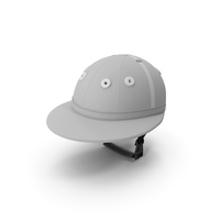 Polo Helmet White PNG & PSD Images