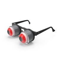 Pop Out Eyeball Glasses PNG & PSD Images