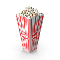 Popcorn Cup Long PNG & PSD Images