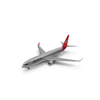 Qantas Boeing 737 800 PNG & PSD Images