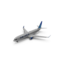 United Boeing 737 800 PNG & PSD Images