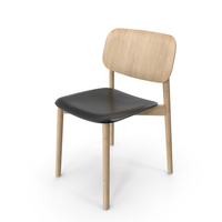 Soft Chair Black PNG & PSD Images