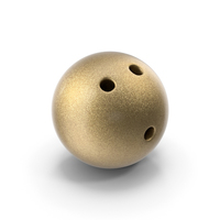 Golden Bowling Ball PNG & PSD Images