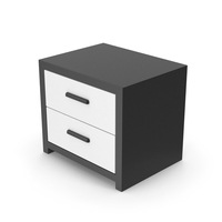 Bedroom Cabinet Black White PNG & PSD Images
