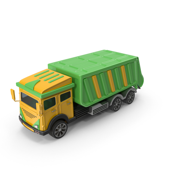 Cartoon Garbage Truck PNG & PSD Images