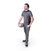 Sports Man Posed PNG & PSD Images