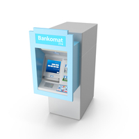 Wall Type ATM / Bankomat Machine PNG & PSD Images