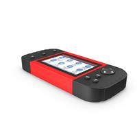 Car Diagnostic Scanner Red PNG & PSD Images