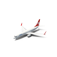 Turkish Airlines Boeing 737 800 PNG & PSD Images