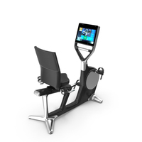 Recline Personal Technogym PNG & PSD Images