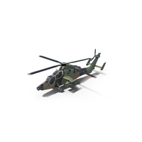 Eurocopter Tiger Attack Helicopter PNG & PSD Images