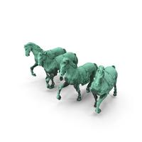 Quadriga Horses PNG & PSD Images